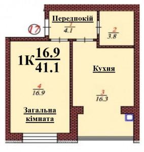 кв 17 1К 41.1 мкв