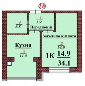 кв 18 1К 34.1 мкв