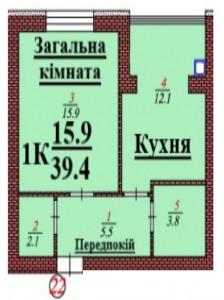 кв 22 1К 39.4 мкв