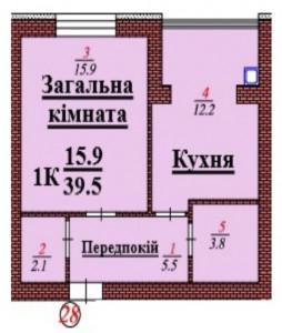 кв 28 1К 39.5 мкв