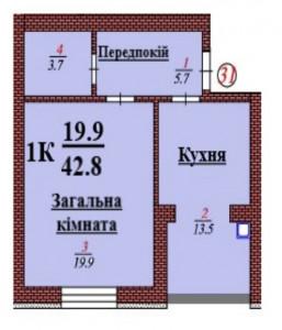 кв 31 1К 42.8 мкв