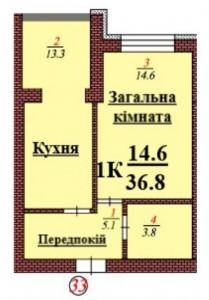 кв 33 1К 36.8 мкв