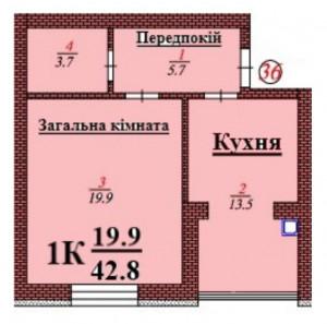 кв 36 1К 42.8 мкв