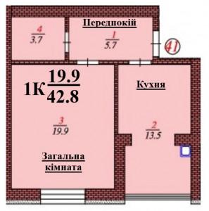 кв 41 1 К 42.8 мкв