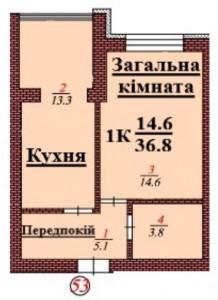 кв 53 1К 36.8 мкв