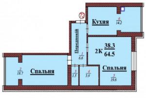 кв 72 2К 64.5 мкв