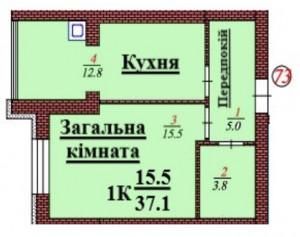 кв 73 1К 37.1 мкв