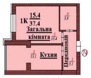кв 74 1К 37.4 мкв
