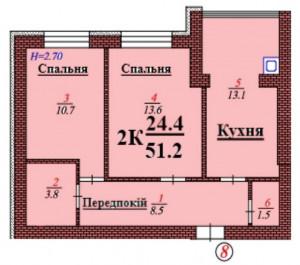 кв 8 2К 51.2 мкв